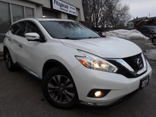 Used 2016 Nissan Murano SL AWD - LEATHER! NAV! 360 CAM! BSM! REMOTE START! for sale in Kitchener, ON