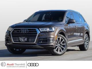Used 2018 Audi Q7 Technik for sale in Thornhill, ON