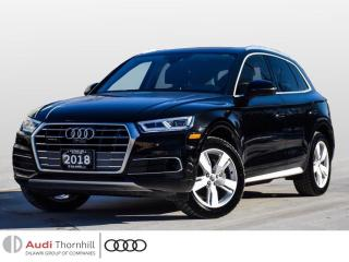 Used 2018 Audi Q5 Technik for sale in Thornhill, ON