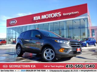 Used 2019 Ford Escape S | CLN CRFX | B/U CAM | B/TOOTH | USB/AUX IN |50K for sale in Georgetown, ON