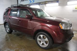 Used 2012 Honda Pilot EX-L 4WD DVD CAMERA CERTIFIED 2YR WARRANTY SUNROOF BLUETOOTH HEATED LEATHER ALLOYS for sale in Milton, ON