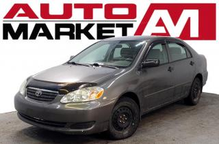 Used 2006 Toyota Corolla CE Certified! Accident FREE! We Approve All Credit! for sale in Guelph, ON