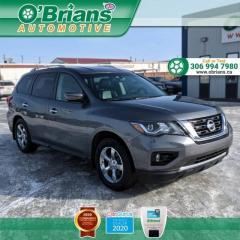 Used 2017 Nissan Pathfinder SL for sale in Saskatoon, SK