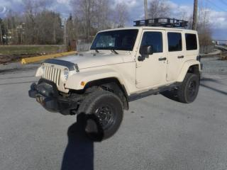 Used 2011 Jeep Wrangler Unlimited Sahara 4WD With Winch for sale in Burnaby, BC
