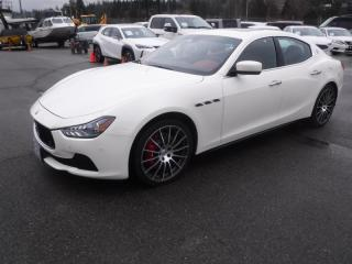 Used 2016 Maserati Ghibli AWD for sale in Burnaby, BC
