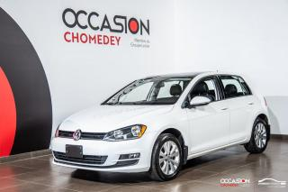 Used 2016 Volkswagen Golf TSI+MAGS+CAM/RECUL+SIEG/CHAUFF+CUIR+TOIT for sale in Laval, QC