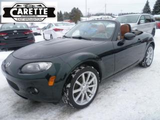Used 2007 Mazda Miata MX-5 Gt decapotable for sale in East broughton, QC