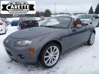 Used 2006 Mazda Miata MX-5 Gt decapotable for sale in East broughton, QC