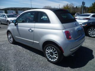 Used 2013 Fiat 500 C Lounge Décapotable for sale in East broughton, QC