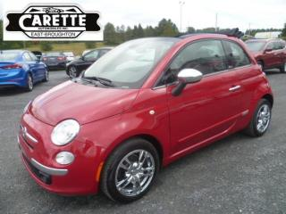 Used 2014 Fiat 500 C Lounge Décapotable for sale in East broughton, QC