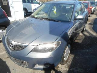 Used 2007 Mazda MAZDA3 Berline 4 portes, boîte manuelle, GX for sale in Sorel-Tracy, QC