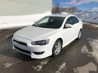 Used 2010 Mitsubishi Lancer Berline 4 portes CVT GTS for sale in Québec, QC
