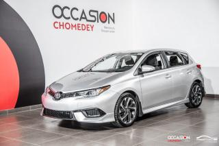 Used 2018 Toyota Corolla iM CAMERA DE RECUL+MAGS+SIEGES CHAUFFANTS for sale in Laval, QC