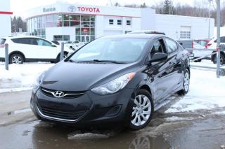 Used 2013 Hyundai Elantra Berline 4 portes, boîte manuelle, GL for sale in Shawinigan, QC