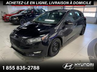 Used 2016 Ford Focus SE + CAMERA + A/C + CRUISE + WOW !! for sale in Drummondville, QC