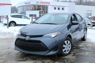 Used 2017 Toyota Corolla Berline 4 portes, boîte manuelle, CE for sale in Shawinigan, QC