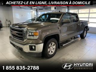 Used 2015 GMC Sierra 1500 SLE 4X4 CREW CAB + GARANTIE + CAMERA + A for sale in Drummondville, QC