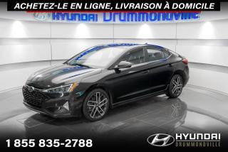 Used 2019 Hyundai Elantra SPORT + GARANTIE 8 ANS+ TOIT + CUIR + CA for sale in Drummondville, QC