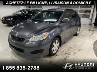 Used 2009 Toyota Matrix XR + GARANTIE + A/C + CRUISE + GROUPE E for sale in Drummondville, QC