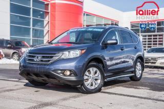 Used 2014 Honda CR-V GARANTIE LALLIER 10ANS/200,000 KILOMETRES INCLUSE* PRES DE 50 CRV USAGES POUR TOUS LES BUDGETS for sale in Terrebonne, QC
