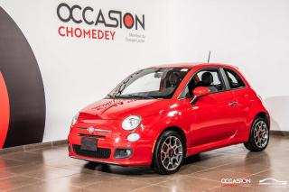 Used 2012 Fiat 500 SPORT+CUIR+MAGS+REG DE VITESSE for sale in Laval, QC