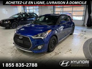 Used 2016 Hyundai Veloster TURBO + GARANTIE + NAVI + TOIT PANO + CU for sale in Drummondville, QC