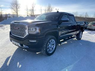 Used 2017 GMC Sierra 1500 4 RM, Cabine multiplaces 143,5 po, Denal for sale in Vallée-Jonction, QC