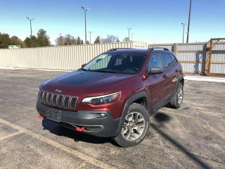 Used 2020 Jeep Cherokee Trailhawk 4WD for sale in Cayuga, ON