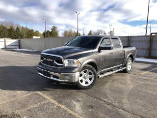 Used 2016 RAM 1500 Limited CREW 4WD for sale in Cayuga, ON