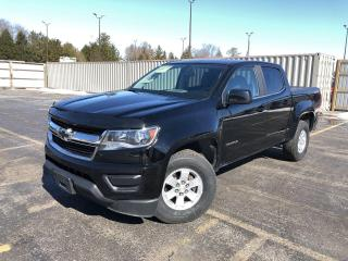 Used 2017 Chevrolet Colorado WT CREW CAB 4WD for sale in Cayuga, ON