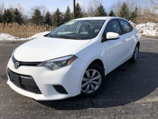 Used 2015 Toyota Corolla LE for sale in Cayuga, ON