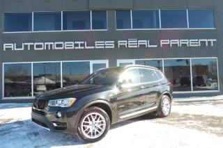 Used 2016 BMW X3 XDRIVE 28I -XLINE -  TOIT PANO - NAVI - CAMERA - for sale in Québec, QC