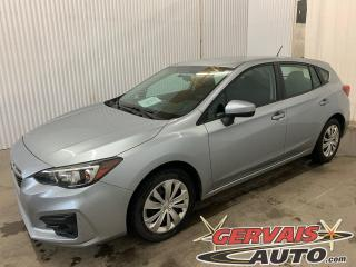 Used 2017 Subaru Impreza Convenience AWD Hatchback Caméra A/C Bluetooth *Bas Kilométrage* for sale in Shawinigan, QC