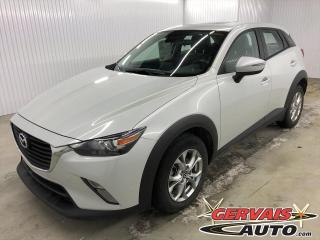 Used 2018 Mazda CX-3 GS Luxe AWD Cuir/Tissus GPS Toit Ouvrant Mags *Traction intégrale* for sale in Shawinigan, QC