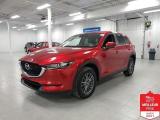 Used 2017 Mazda CX-5 GSL AWD - CAMERA + TOIT + CUIR + JAMAIS ACCIDENTE for sale in St-Eustache, QC
