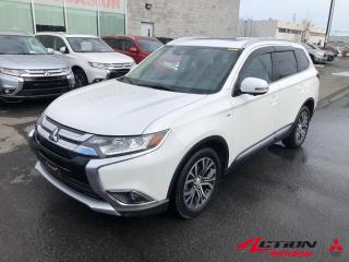 Used 2018 Mitsubishi Outlander GT S-AWC+CUIR+TOIT+MAGS+APPLECARPLAY+BLUETOOTH+V6 for sale in St-Hubert, QC