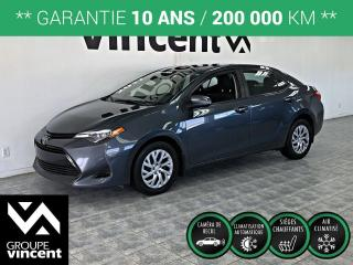 Used 2017 Toyota Corolla LE ** GARANTIE 10 ANS ** Reconnu pour sa fiabilité! for sale in Shawinigan, QC