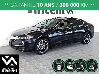 Used 2017 Acura TLX V6 TECH AWD ** GARANTIE 10 ANS ** Luxueux, performant et confortable! for sale in Shawinigan, QC