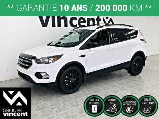 Used 2017 Ford Escape SE AWD ** GARANTIE 10 ANS ** BIen équipé, fiable et sécuritaire! for sale in Shawinigan, QC