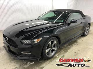 Used 2016 Ford Mustang V6 Convertible A/C MAGS for sale in Shawinigan, QC
