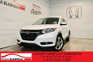 Used 2018 Honda HR-V LX Traction Intégrale CVT for sale in Blainville, QC