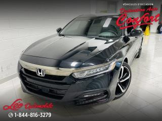 Used 2018 Honda Accord Sport 2.0 transmission manuelle for sale in Chicoutimi, QC