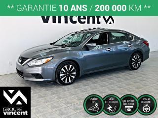 Used 2018 Nissan Altima 2.5 SV ** GARANTIE 10 ANS ** Sportive et confortable, l'Altima comblera tout vos besoins! for sale in Shawinigan, QC