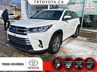 Used 2018 Toyota Highlander HYBRID XLE TI for sale in Trois-Rivières, QC