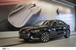 Used 2020 Audi A4 KOMFORT - 2.0 TFSI - QUATTRO AWD for sale in Sherbrooke, QC