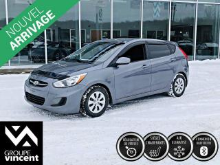 Used 2016 Hyundai Accent GL ** GARANTIE 10 ANS ** Logeable et fiable! for sale in Shawinigan, QC