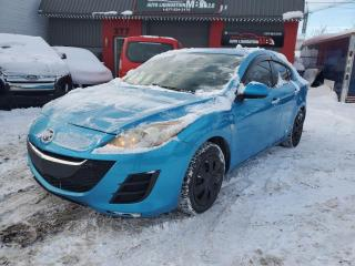 Used 2010 Mazda MAZDA3 2010 MAZDA 3 GX**FINANCEMENT 100% APPROU for sale in Lemoyne, QC