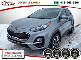 Used 2020 Kia Sportage ** EX * AWD * TOIT PANO *TAUX D'INTERET for sale in Québec, QC