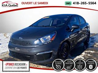 Used 2017 Kia Rio LX+ SIEGES CHAUFFANT * AC * BAS KM * for sale in Québec, QC
