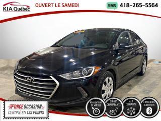 Used 2017 Hyundai Elantra GLS* CAMERA* TOIT* SIEGE for sale in Québec, QC